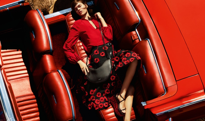 An image from Michael Kors' spring 2016 campaign