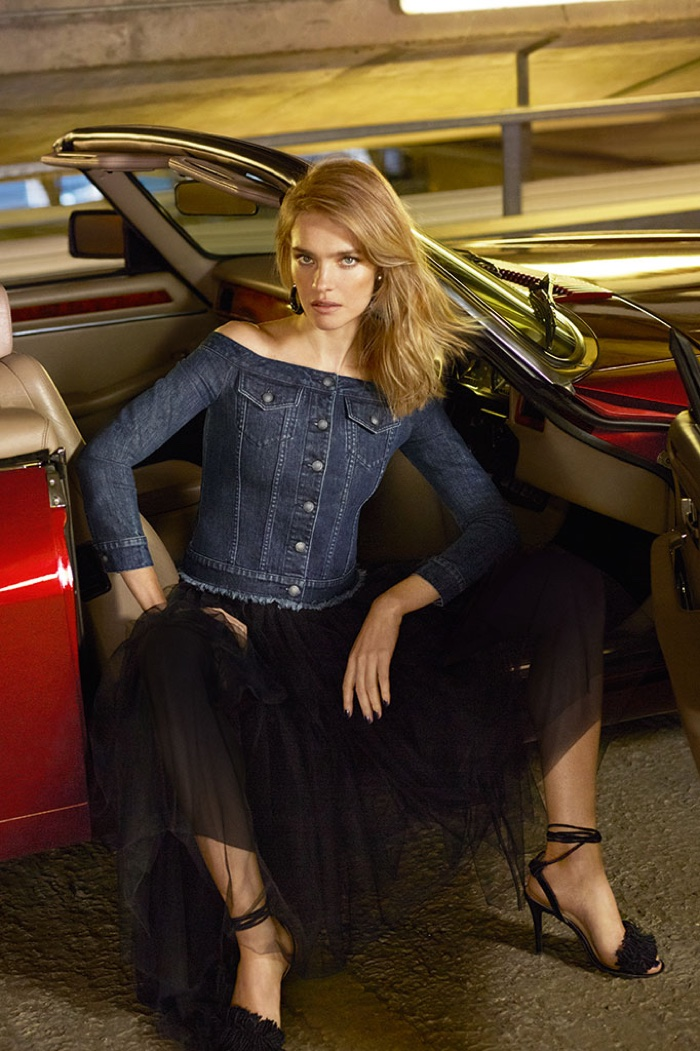 Natalia Vodianova is Back in Denim for Miss Sixty's Spring 2016 Ads