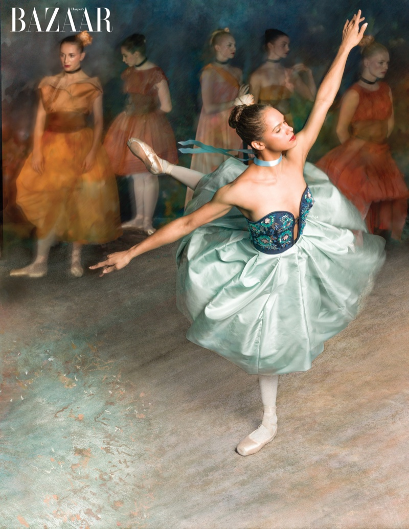 Ballerina Misty Copeland Shows The Art Of Dance In BAZAAR Shoot
