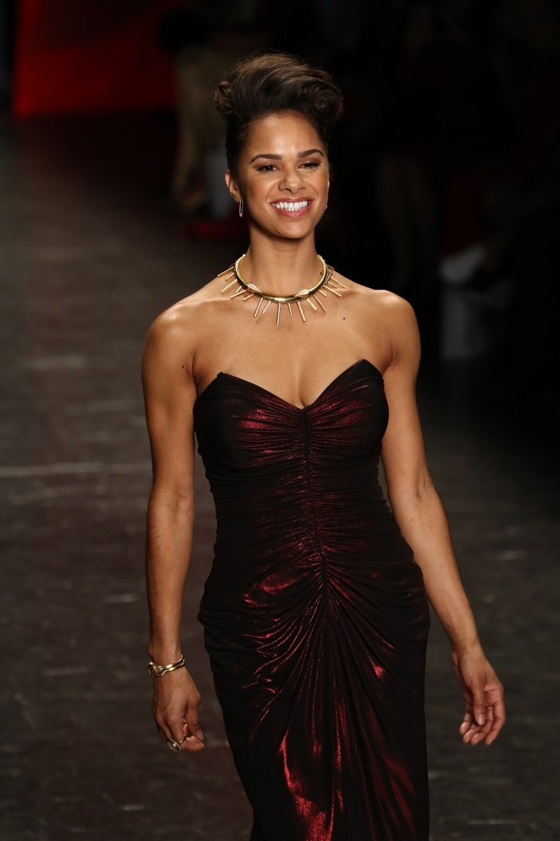 FEBRUARY 11th 2016: Misty Copeland walks the runway at the 2016 Go Red for Women Red Dress Collection show. Photo: Fashionstock.com / Shutterstock.com