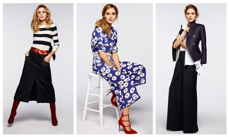 Olivia Palermo poses in looks from Olivia Palermo + Chelsea28 clothing collaboration available at Nordstrom.