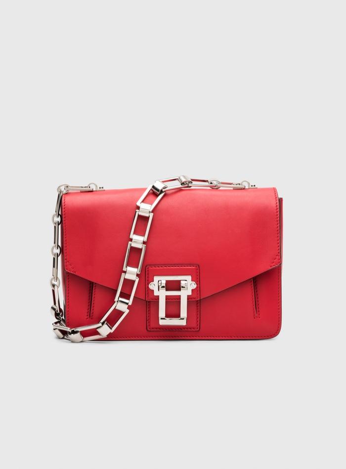 Proenza Schouler Hava Chain Red Handbag