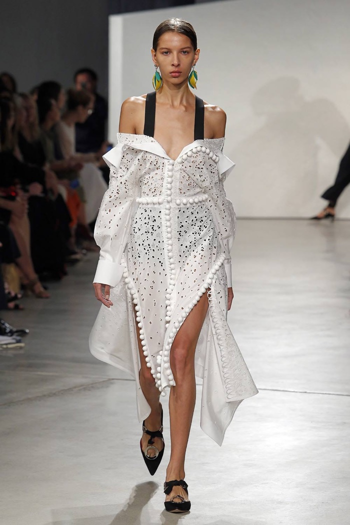 A look from Proenza Schouler's spring 2016 collection