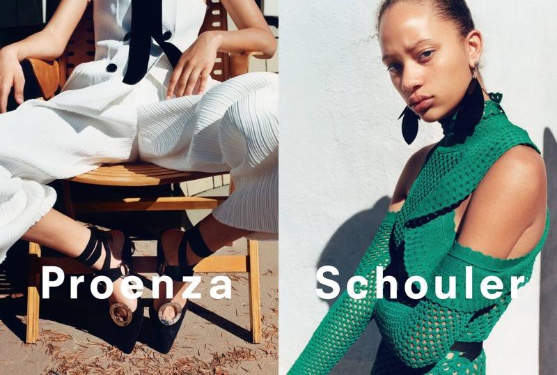 Proenza Schouler's spring-summer 2016 advertising campaign
