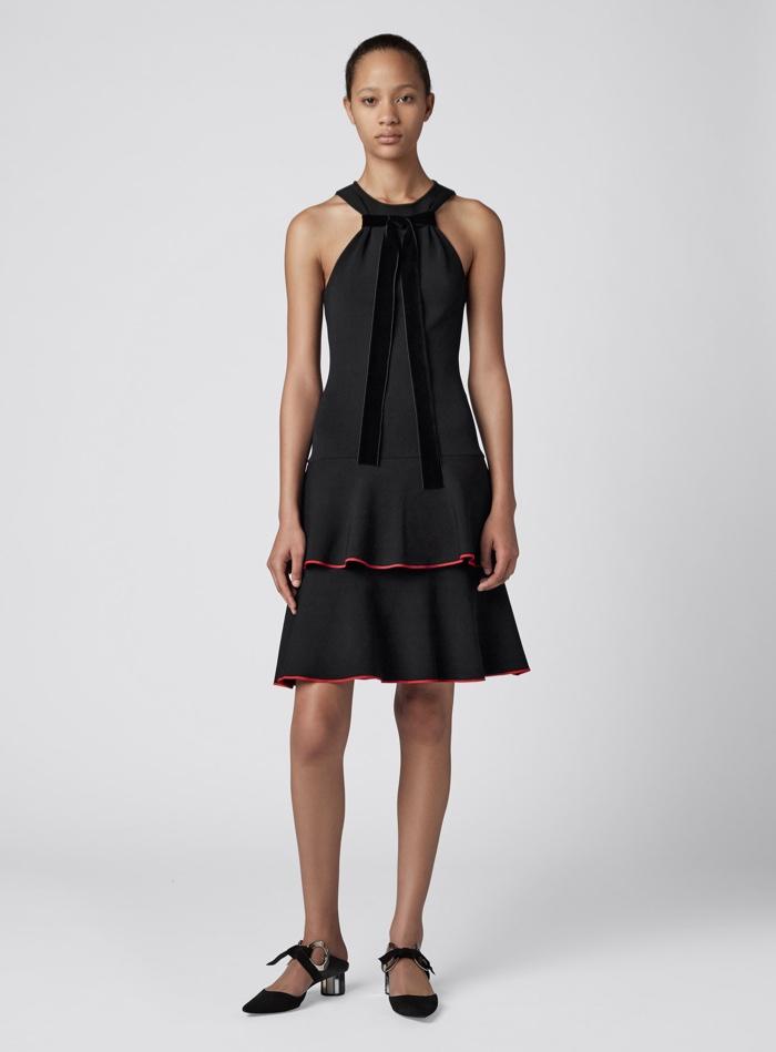 Proenza Schouler Tiered Ruffle Short Dress