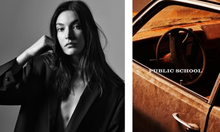 Jacquelyn Jablonski stars in Public School's spring-summer 2016 campaign