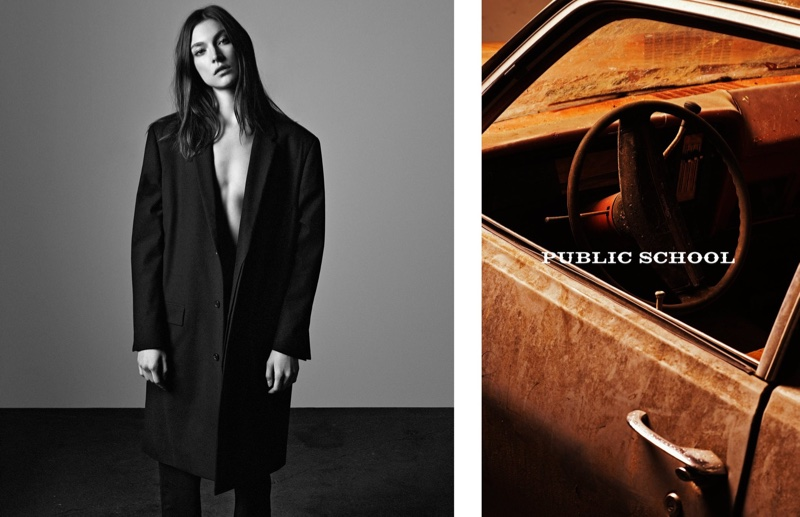 Public School Features Black & White Portraits for Spring Campaign