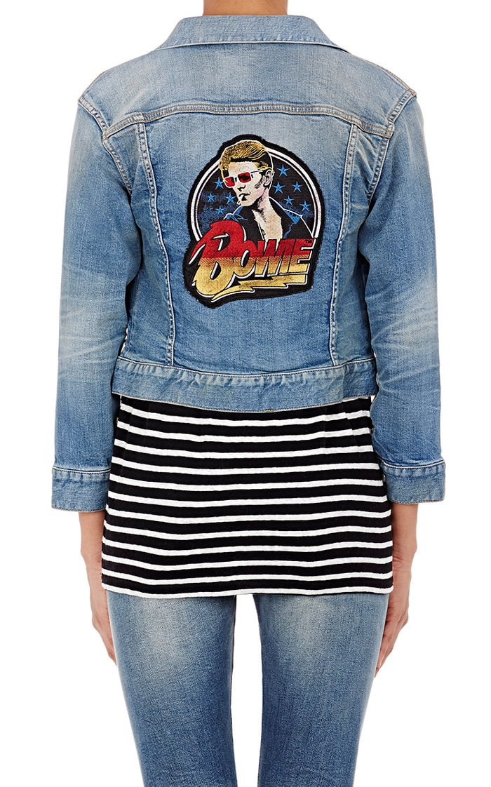 R13 Bowie Shrunken Fit Trucker Jacket