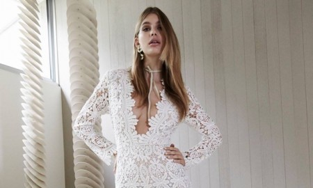Stone Cold Fox White Lace Jumpsuit