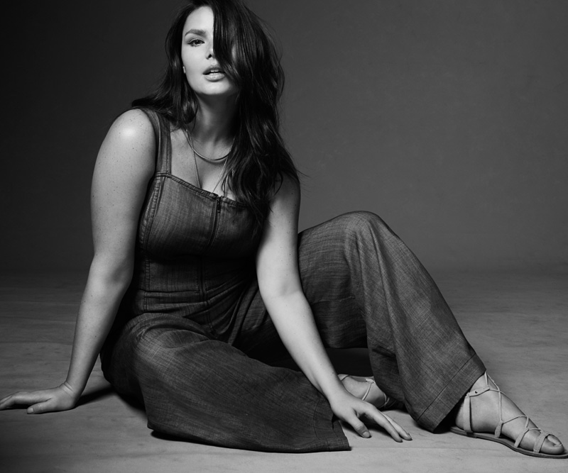 Candice Huffine Fronts Rachel Roy's Spring 2016 Curvy Campaign