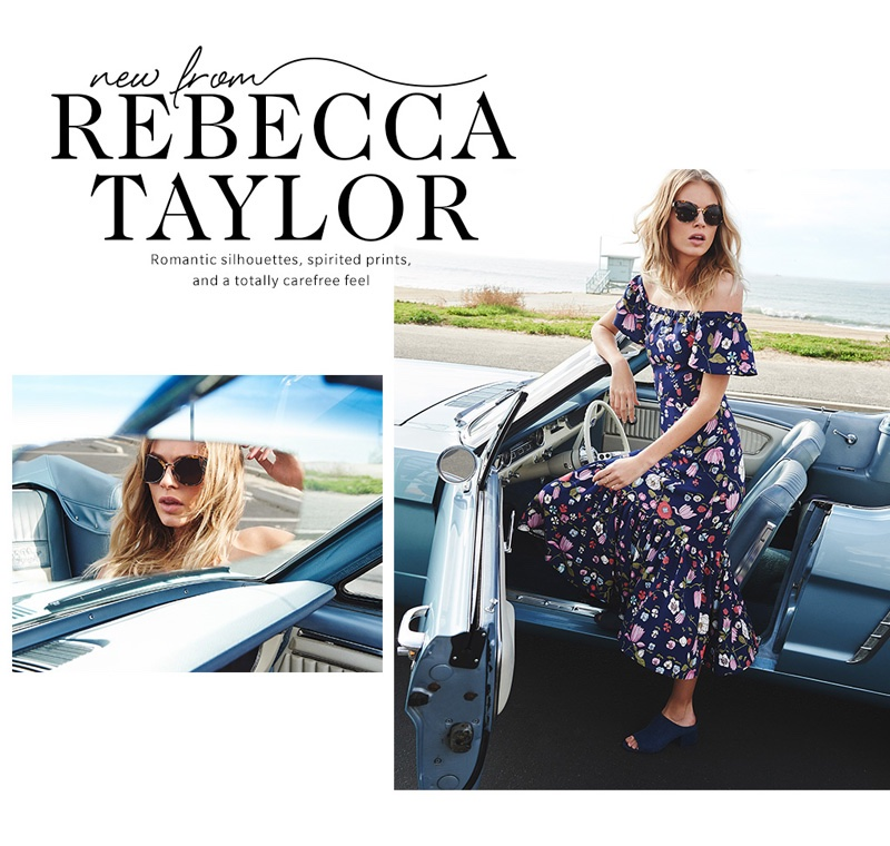 4 Romantic Looks From Rebecca Taylor`s Spring Collection