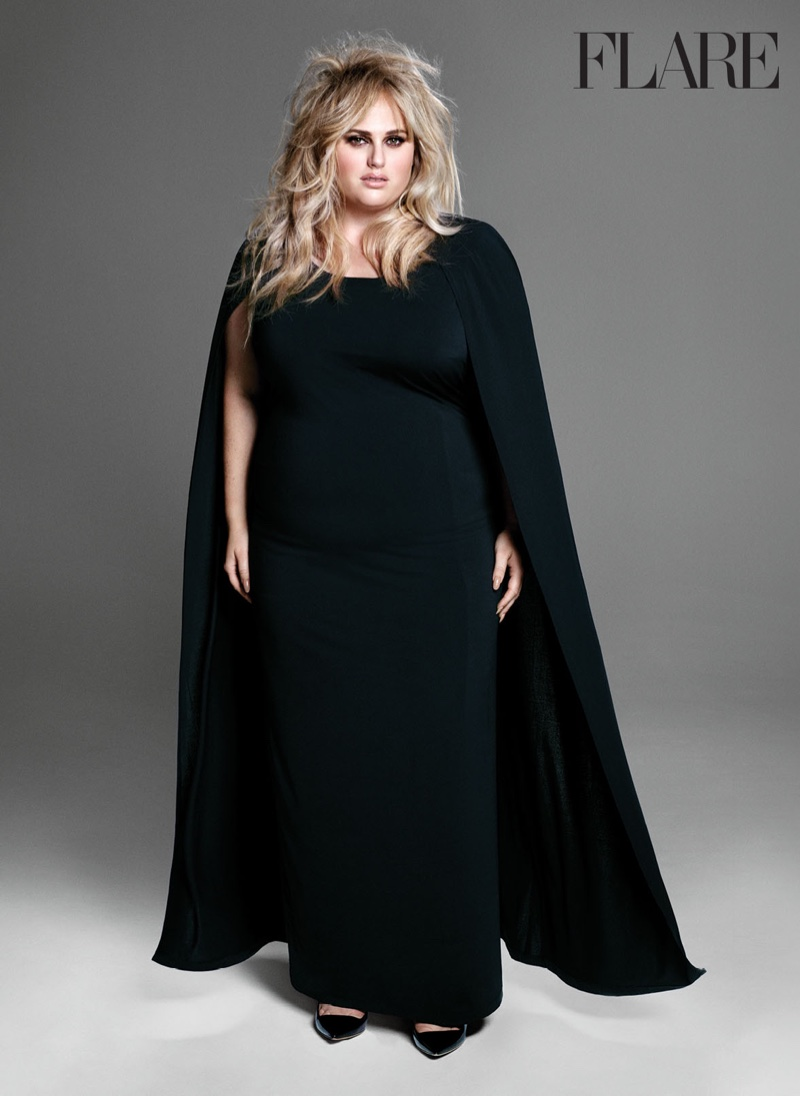 Rebel Wilson Gets Glam for FLARE, Talks Her Age Scandal