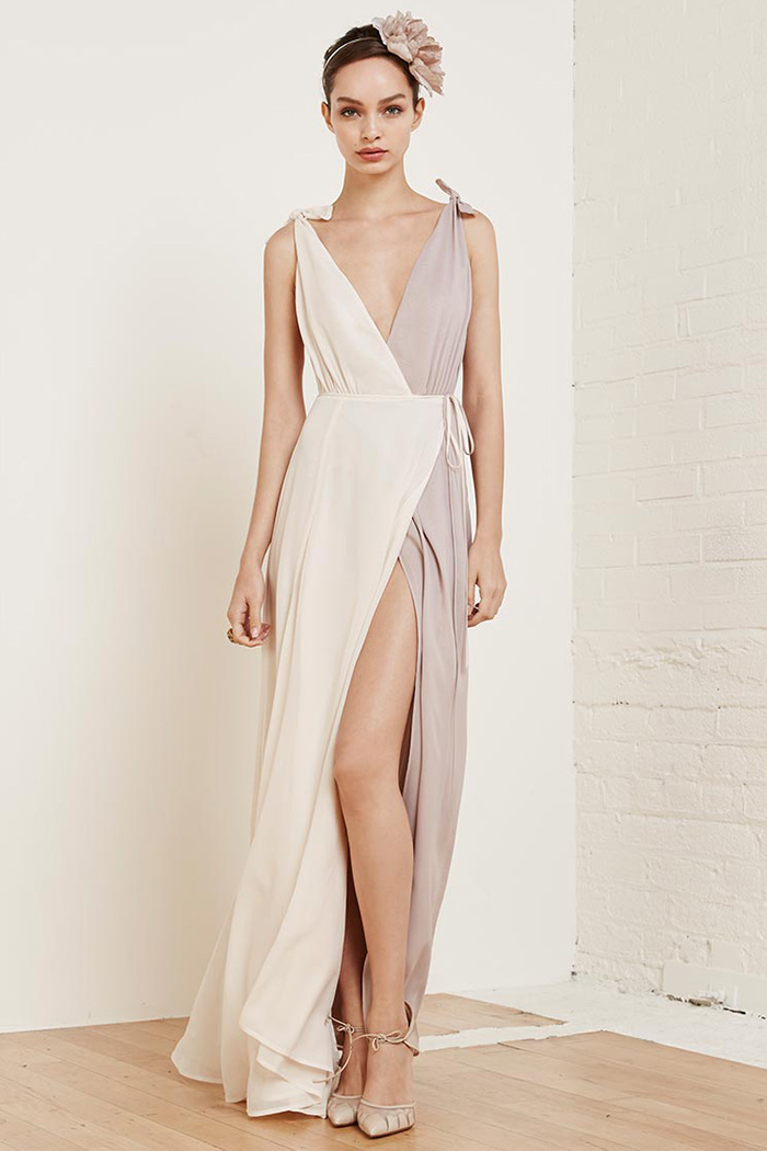 Wedding Dress Websites 39 Superb Reformation Bi Color Romantica