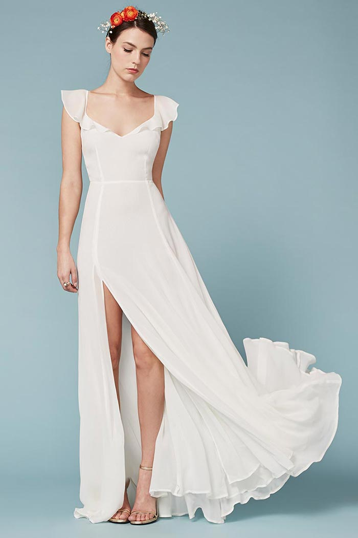 Shop Reformation Spring 2016 Wedding Dresses
