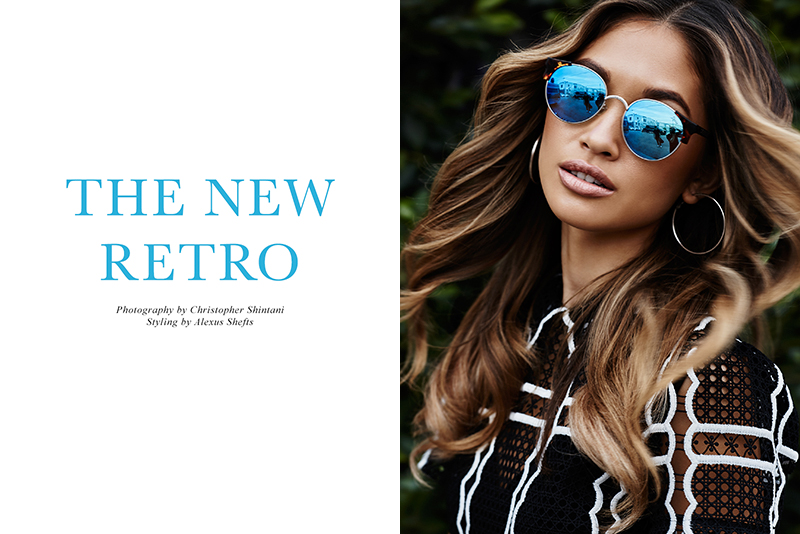 Exclusive: Jocelyn Chew By Christopher Shintani In The New Retro