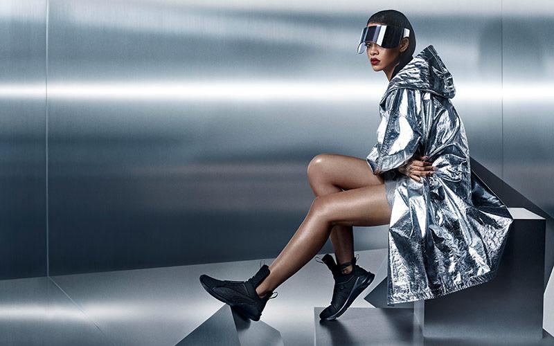 Just Landed: Rihanna x Puma's New Training Sneaker