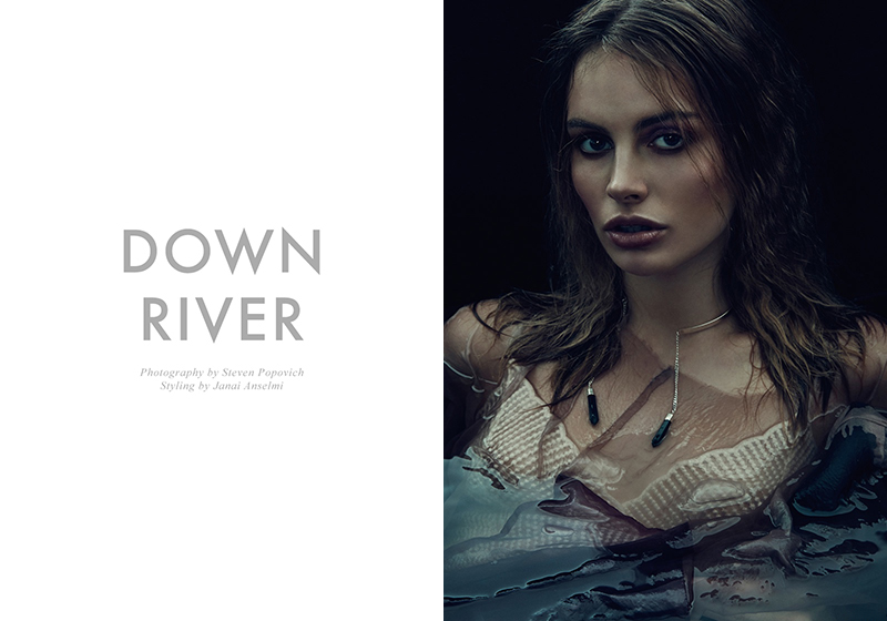 Exclusive: Paulina & Zoe By Steven Popovich In Down River