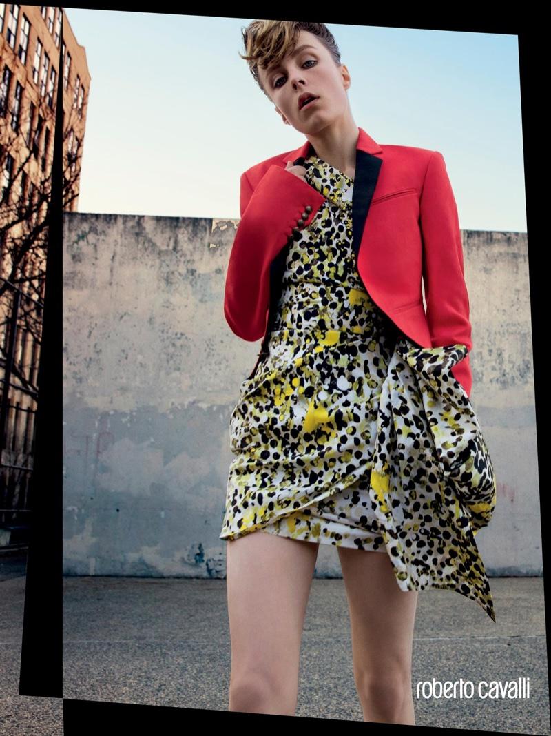 26294a1a5 Roberto Cavalli 2016 Spring   Summer Ad Campaign