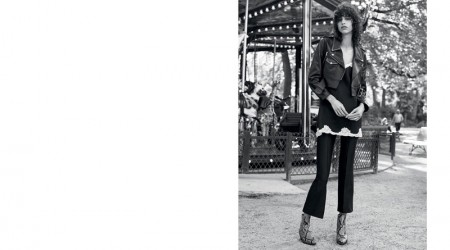 Sandro Does Parisian Cool for Spring 2016 Campaign