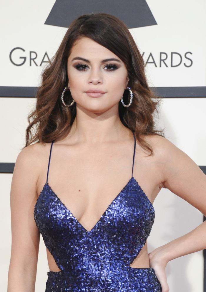 2013 Selena Gomez Ombre Hairstyles
