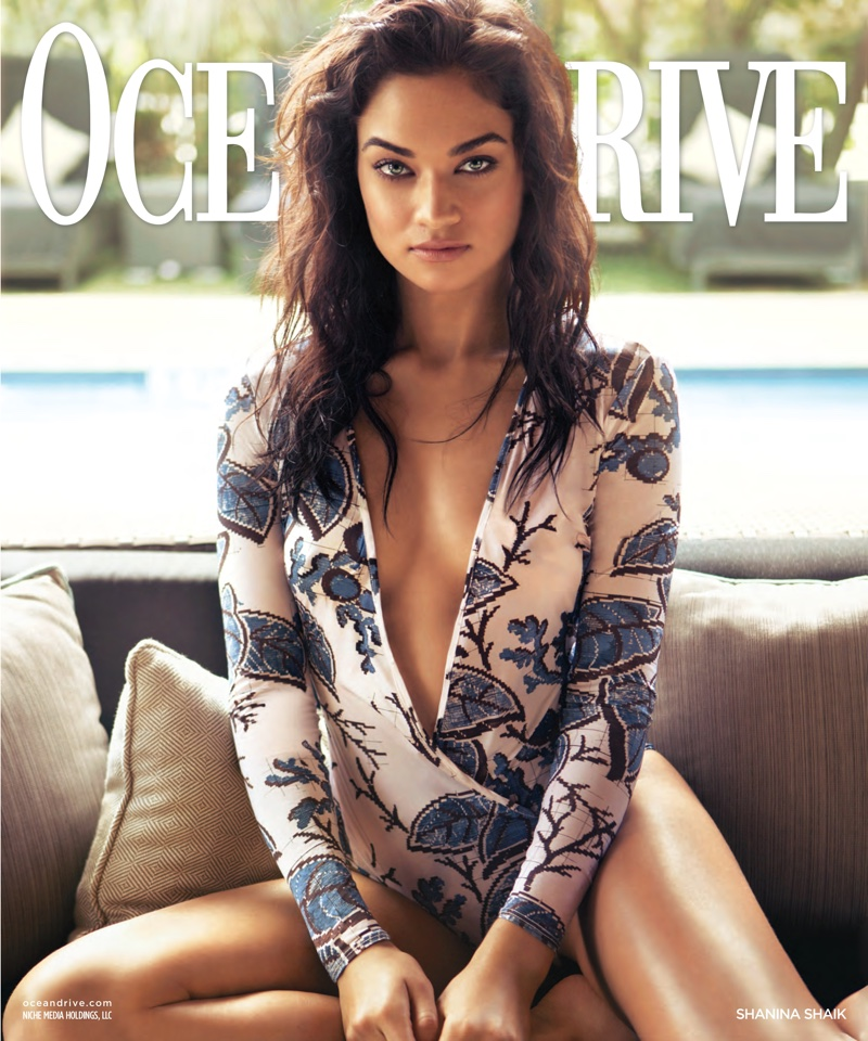 Shanina Shaik Heats Up the Pages of Ocean Drive Magazine