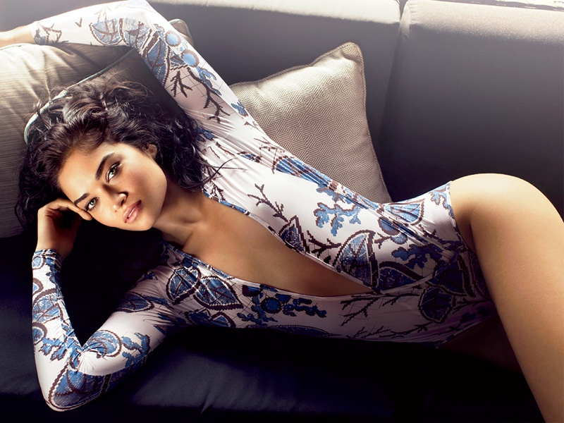 Shanina Shaik Heats Up the Pages of Ocean Drive Magazine