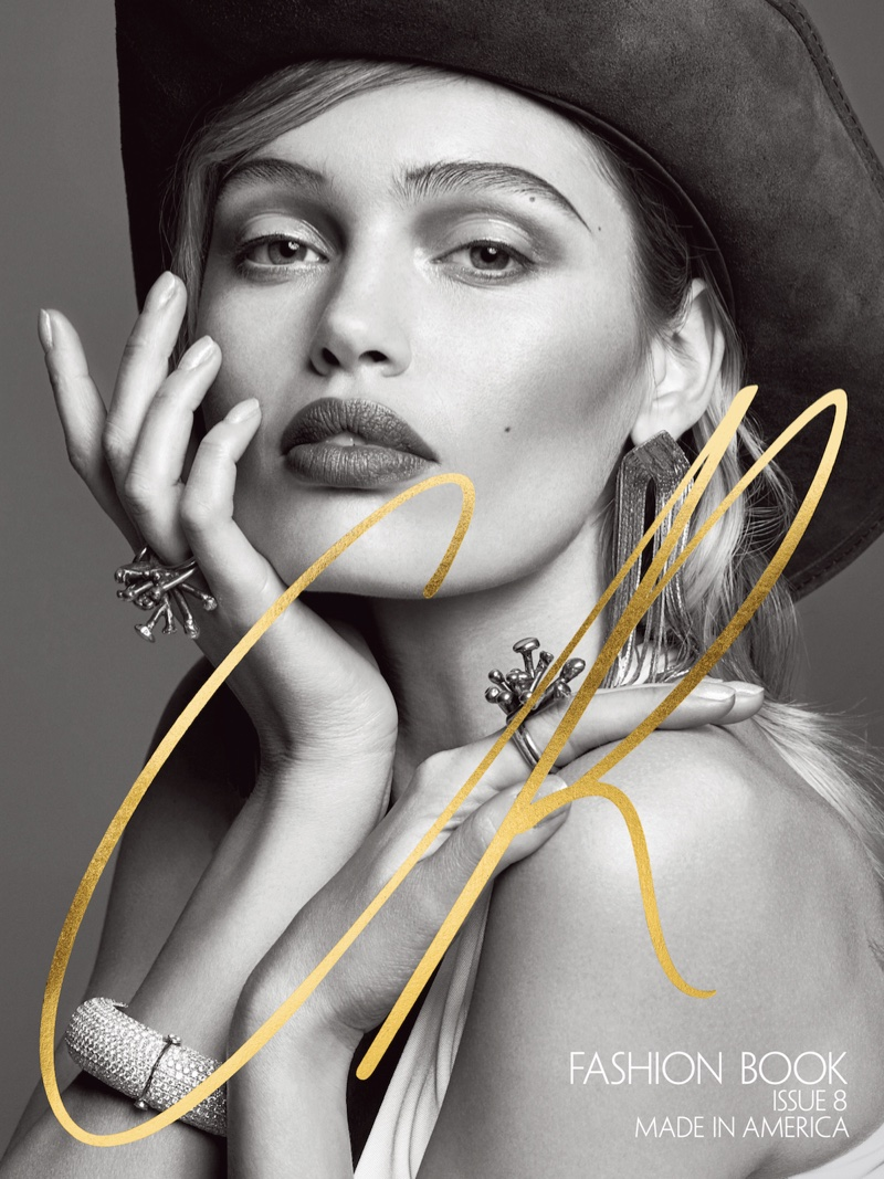 Book Cover Of Fashion : Gigi hadid gets patriotic on cr fashion book cover