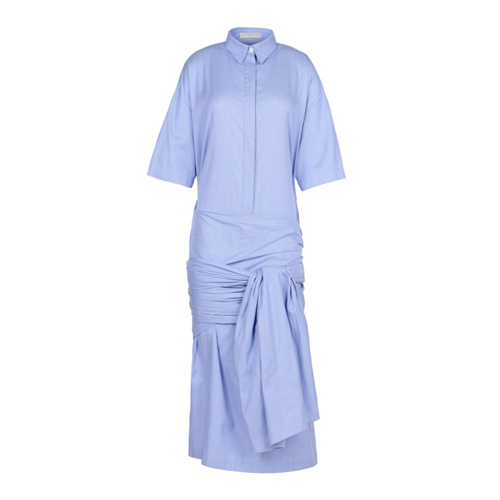 Stella McCartney Martine Cotton Shirt Dress