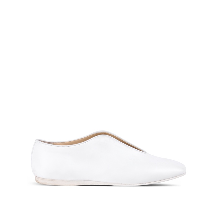 Stella McCartney White Open Slipper