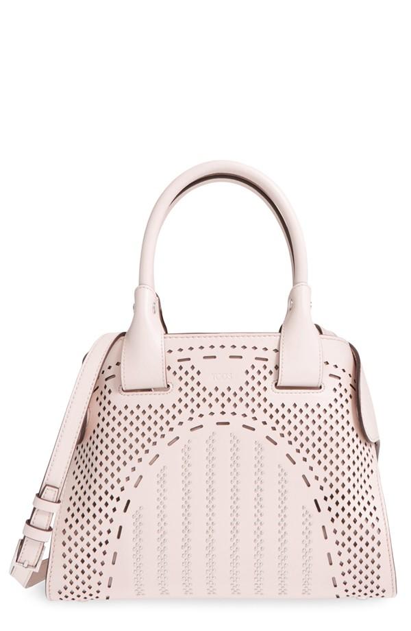 Tod's Mini Cape Leather Tote Bag