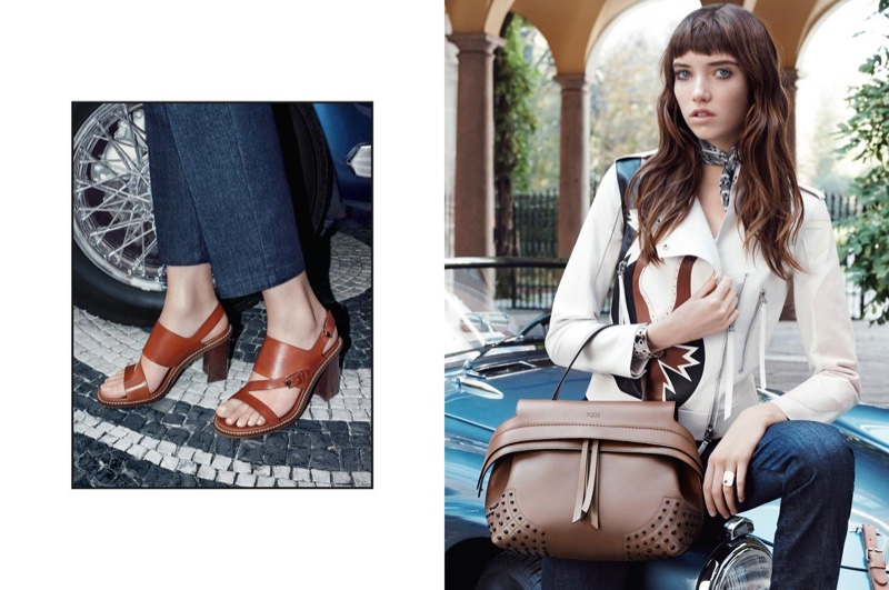 Tod`s Reteams With Grace Hartzel For Spring 2016 Campaign