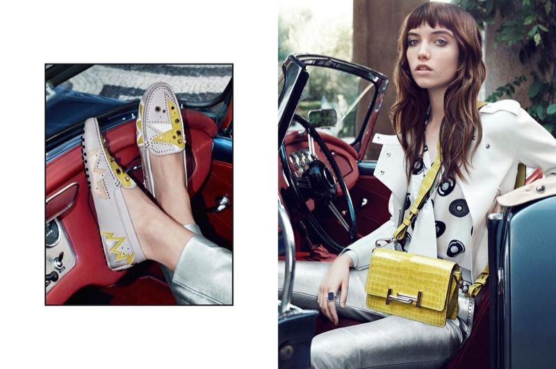 Tod's Reteams with Grace Hartzel for Spring 2016 Campaign