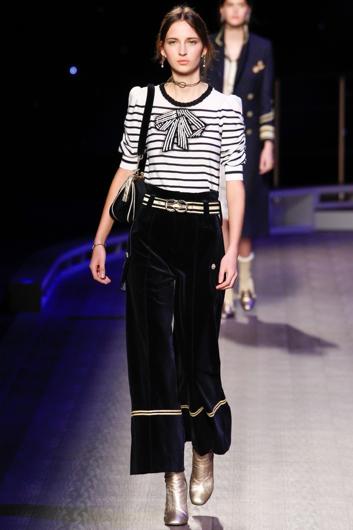 A look from Tommy Hilfiger's fall-winter 2016 collection