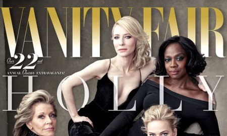 Jane Fonda, Cate Blanchett, Viola Davis and Jennifer Lawrence on Vanity Fair 2016 Hollywood Issue cover