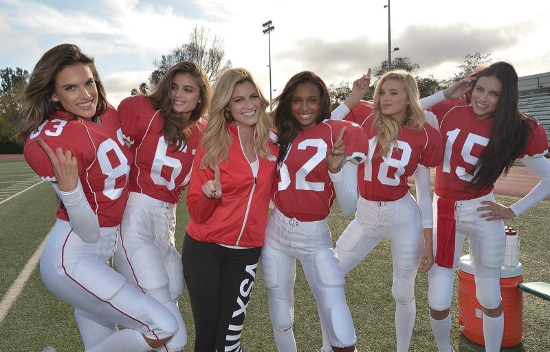 Victoria's Secret Models Play the Field in 2016 Super Bowl Promo