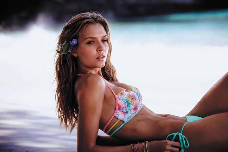 Josephine Skriver stars in Victoria's Secret Swim 2016 catalog