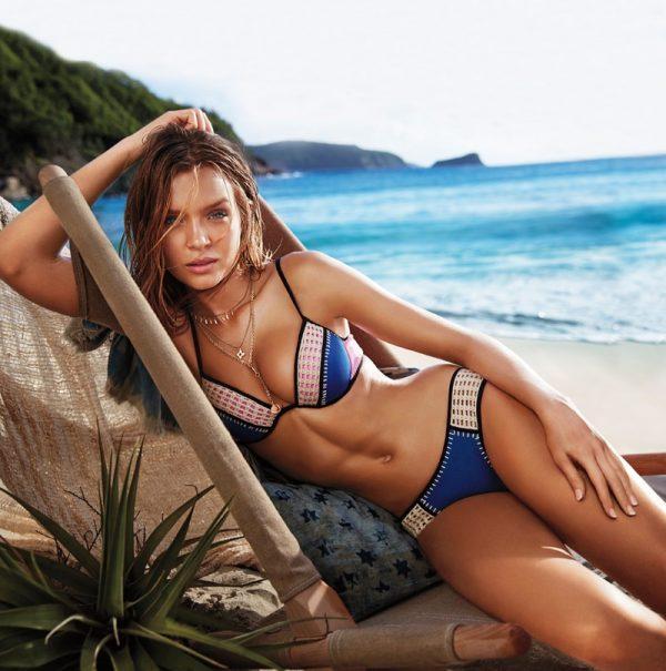 Die Victorias Secret-Models Josephine Skriver und Jasmine
