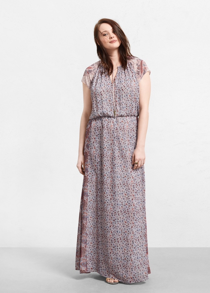 Violeta by Mango Printed Gown