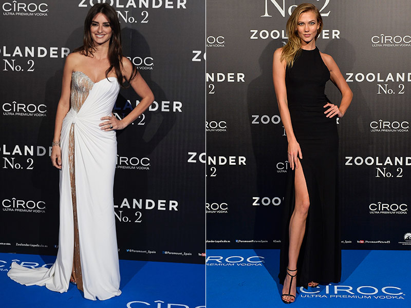Penelope Cruz & Karlie Kloss Step Out in Style at 'Zoolander 2' Events