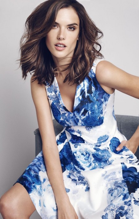 Alessandra Ambrosio's New Campaign Features the Most Ladylike Dresses