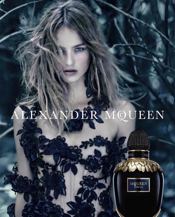 Alexander McQueen Parfum advertising campaign