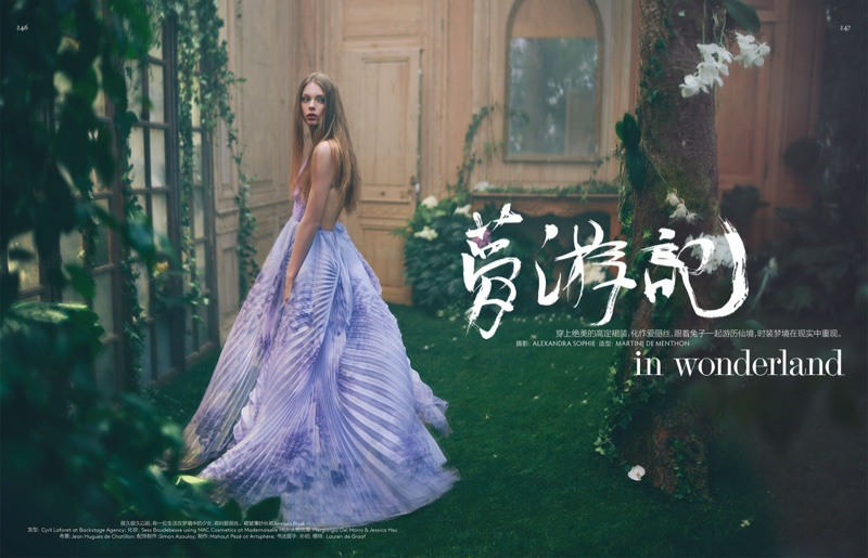 Alice In Wonderland Inspired This Enchanting Vogue China Editorial