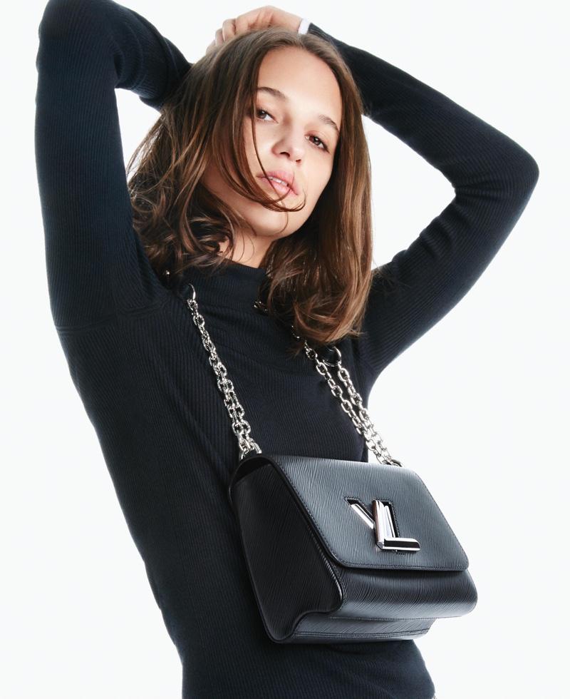Alicia Vikander stars in Louis Vuitton's Twist handbag campaign