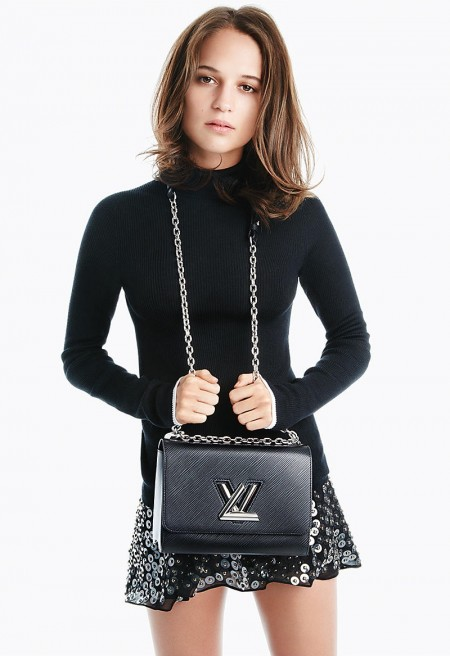Alicia Vikander Does 'The Twist' for Louis Vuitton