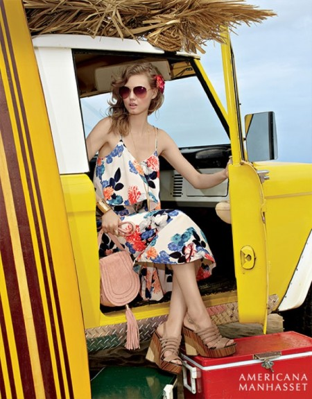 Lindsey Wixson Heads to Hawaii for Americana Manhasset's Spring Campaign