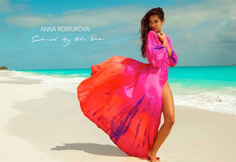 Anna Kosturova's Swim Fashions Are Made For On & Off The Beach
