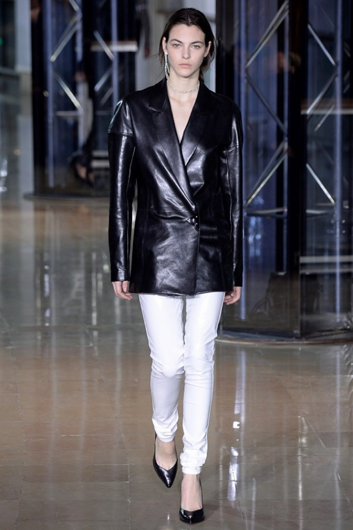A look from Anthony Vaccarello's fall-winter 2016 collection