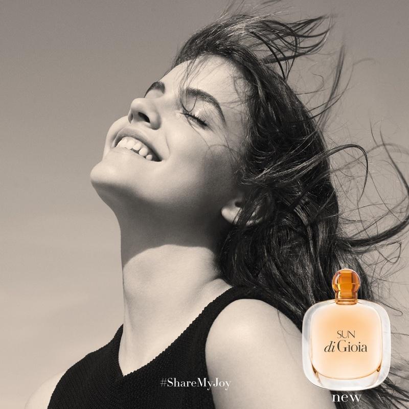 Armani releases new perfume for 2016--Sun di Gioia