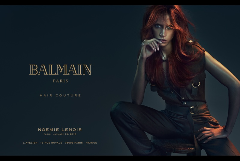 Balmain Creates Ultimate #HairGoals with Its New Campaign