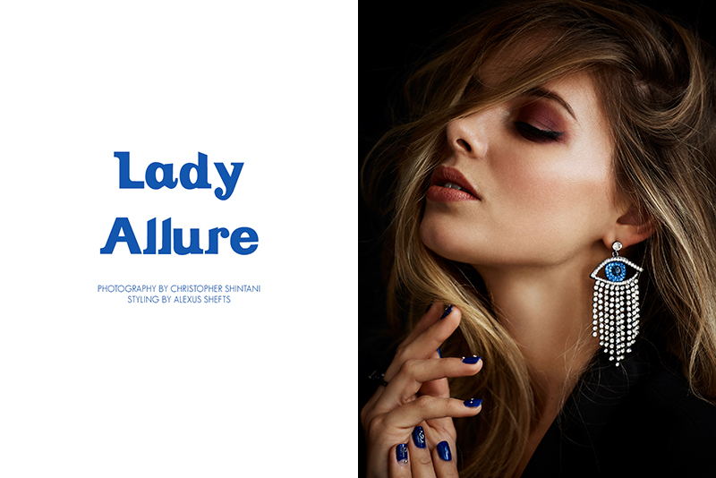 Exclusive: Danielle Knudson By Christopher Shintani In Lady Allure